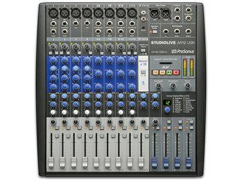 VOAT 東京本校レッスンスタジオに Presonus Studio Live AR12 USB導入!!