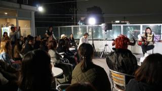 原宿校開催「Roof Top Live」 開催 2019.11.3 (Sun)