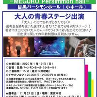 2020年1月19日(日)35th VOATLIVE⑤大人の青春ステージ出演